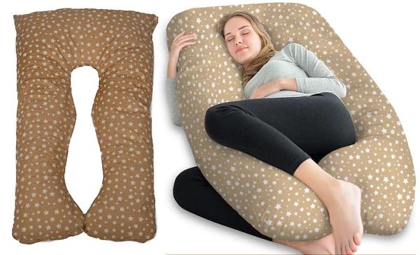 Възглавница за бременни и кърмене Капинката, У-образна
