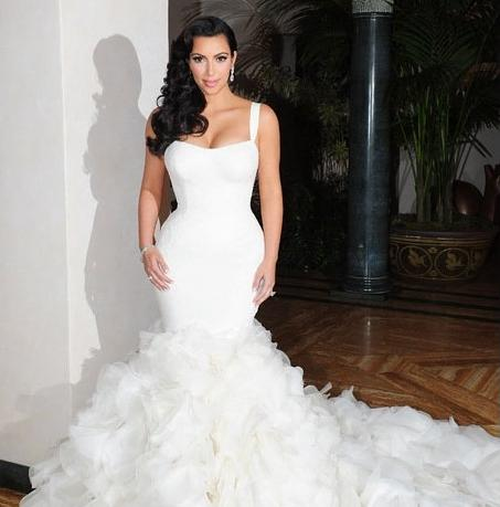 2016 Wedding Dresses and Trends: Kim Kardashian Wedding ...