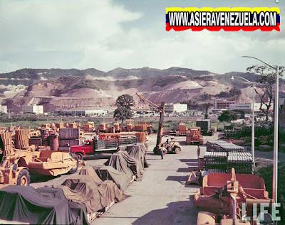 Así se preparaba todo para la construcción de  Colinas de Bello monte