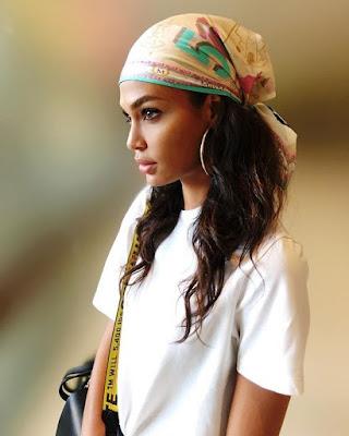 lenço tipo touca ou turbante