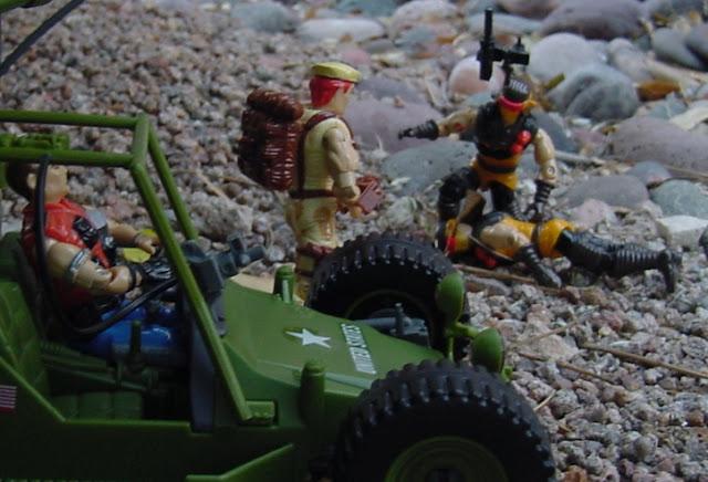 1991 Desert Scorpion, 2008 AWE Striker, 1987 Mercer, Dusty