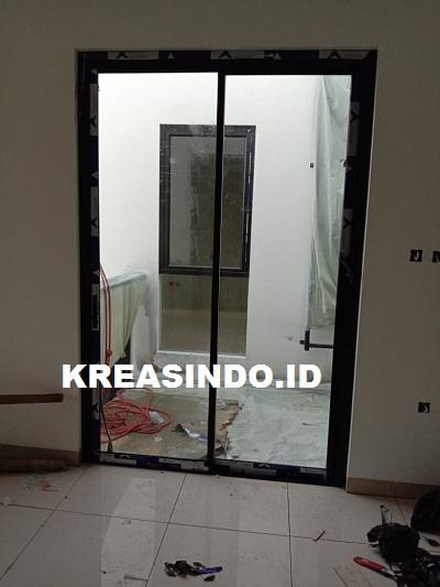 Repeat Order Kusen Aluminium dan Kaca oleh Bpk Fredi di Proyek Tebet Jakarta