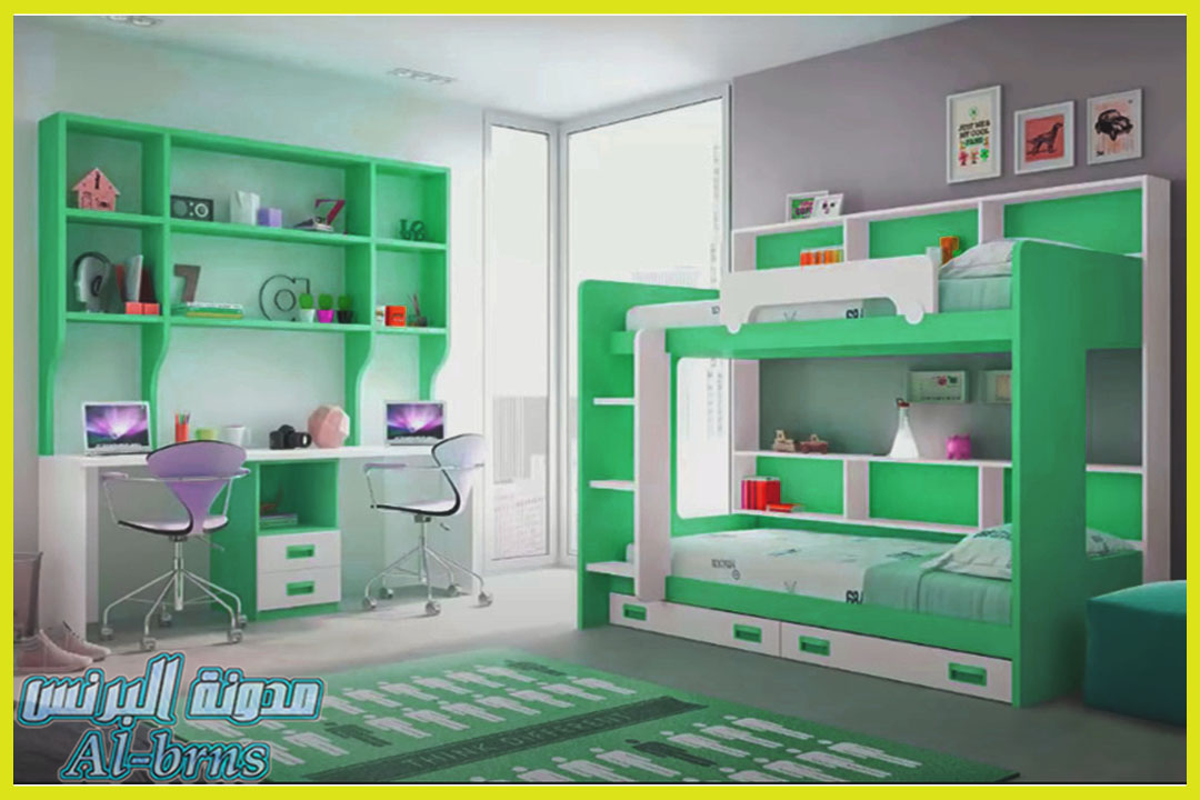 كتالوج غرف نوم اطفال