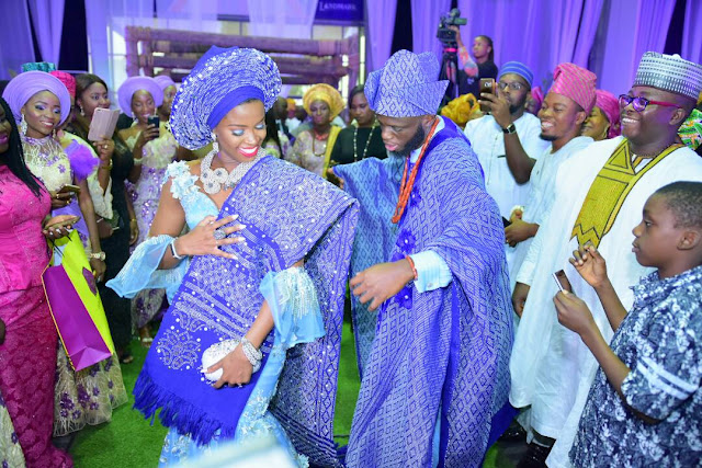 More pictures from the traditional wedding of Ondo state governor, Rotimi Akeredolu