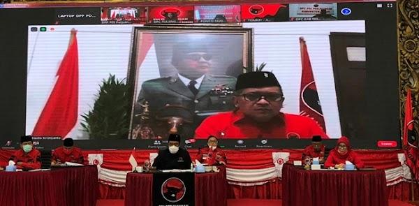 Hasto Tegaskan PDIP Satu-satunya Yang Konsisten Implementasikan Nilai Nasionalisme Dan Sukarnoisme