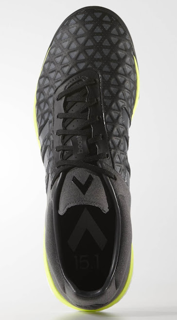 ecffa08ca ... black with Metallic Silver for the upper, while the midsole features  the striking color Solar Yellow. The boost midsole is white as Adidas is  only able ...