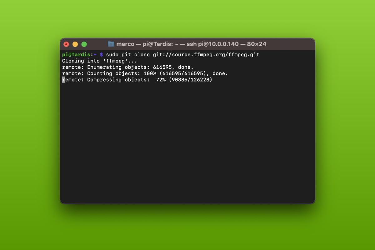 Come installare FFmpeg su Raspberry Pi