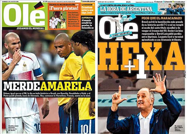 Jornal Olé, Argentina
