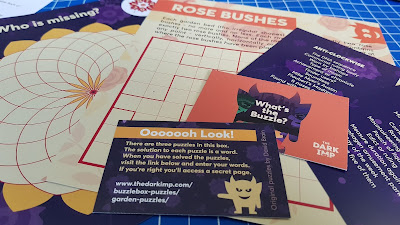 Puzzles for families and multi generational play in the Buzzlebox from The Dark Imp