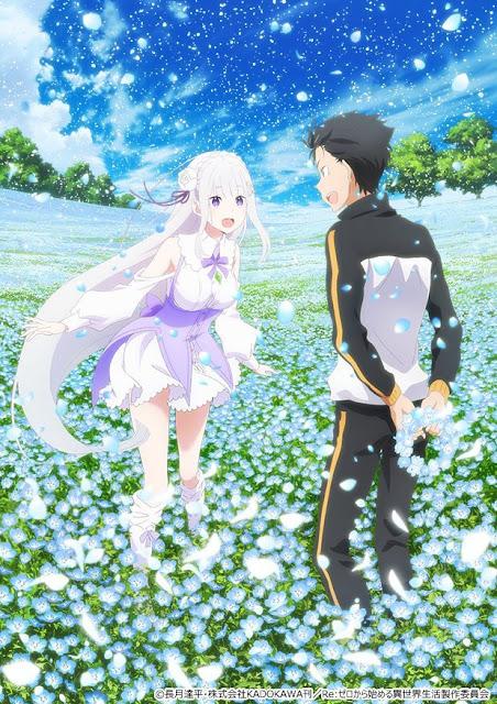 Segundo vídeo promocional para Re:Zero kara Hajimeru Isekai Seikatsu Memory Snow!!