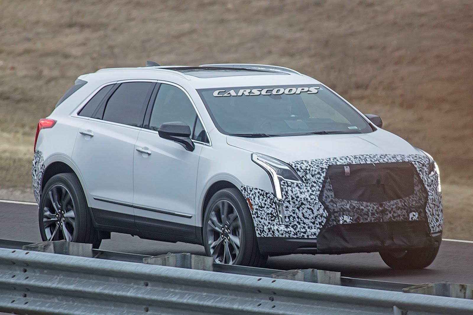 Spy Shots Cadillac Xt5 Reviews