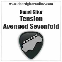 Chord Kunci Gitar Tension Avenged Sevenfold A7x