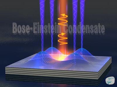 تجربة للتغيير المفاجئ في درجة حرارة الجزيئات عبر Bose-Einstein تبريد سريع للجزيئات يولّد مكثفات