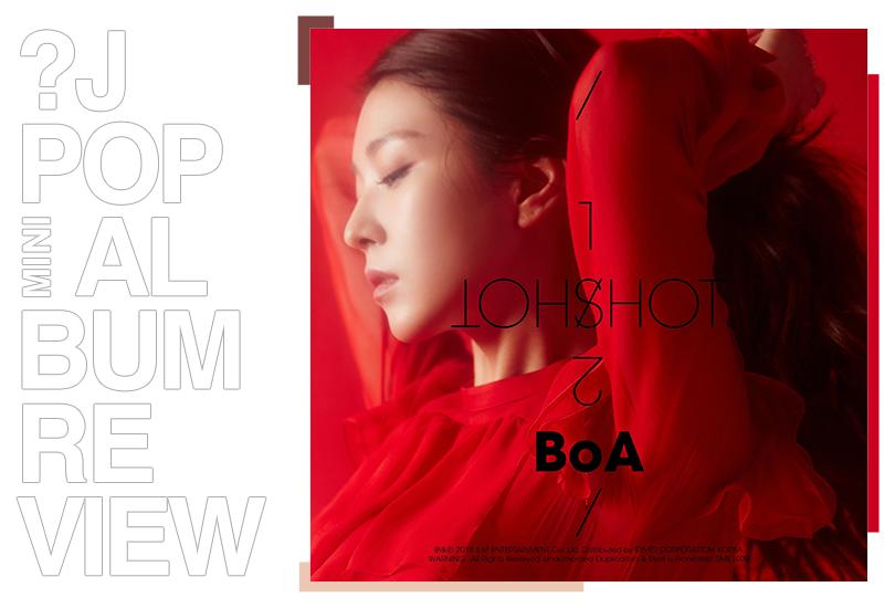 Mini album review: BoA - One shot, two shot | Random J Pop