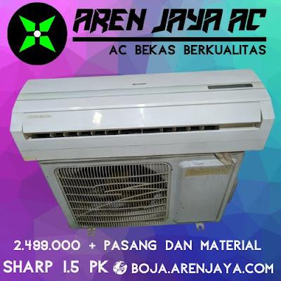 Jual AC Sharp 1.5 PK Siap Pasang Area Semarang