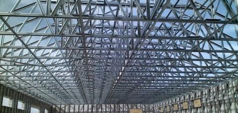 Perakitan Kuda Baja Ringan Bengkel Las (alkahfi Iron Work): Rangka Atap ...