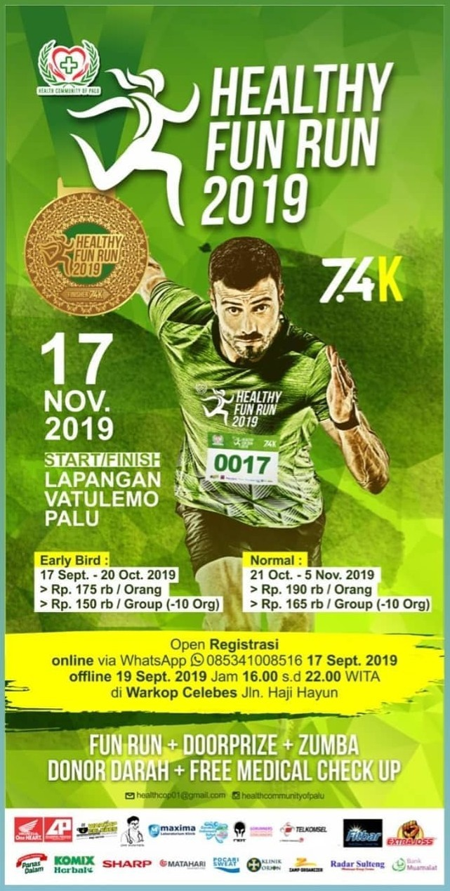 Healthy Fun Run - Palu • 2019