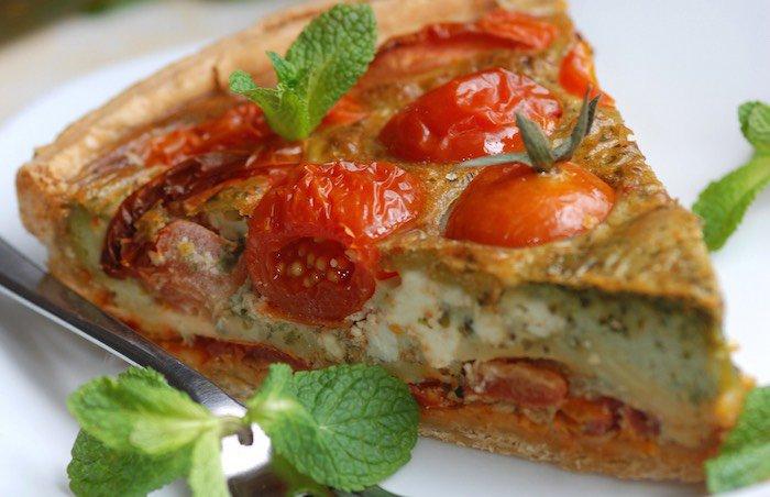 Sapuri sicilianu torta salata con pomodorini di pachino e for Ricette cucina estive