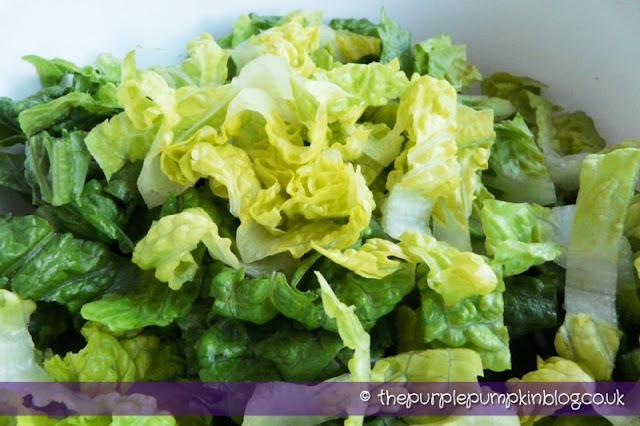 Caesar Salad at The Purple Pumpkin Blog