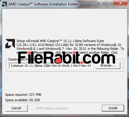 AMD Catalyst Drivers Screenshot 1