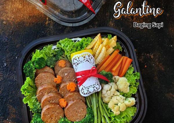 Galantine daging sapi
