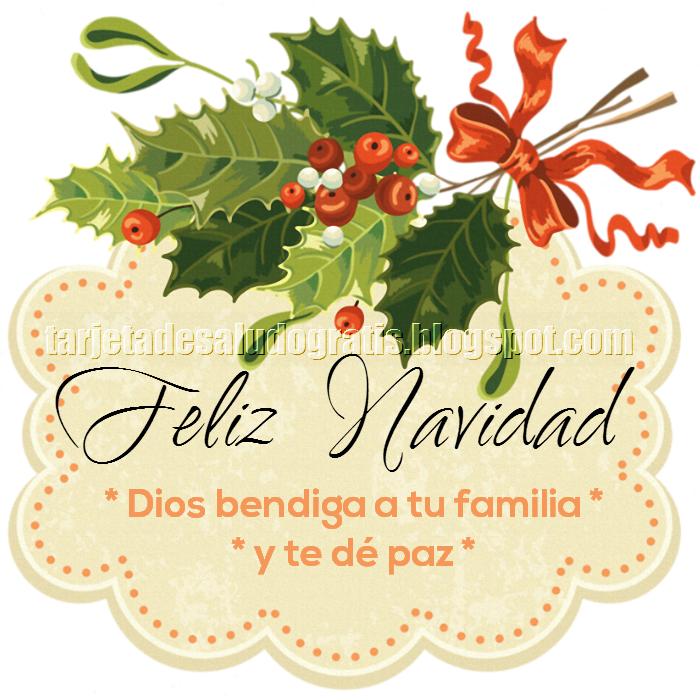 Postal Cristiana de feliz Navidad con poesía de Navidad