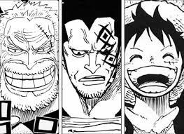 """Mengungkap Takdir 3 Penyandang Nama """"D"""" Dari Generasi Yang Berbeda: Luffy, Dragon, dan Garp"""