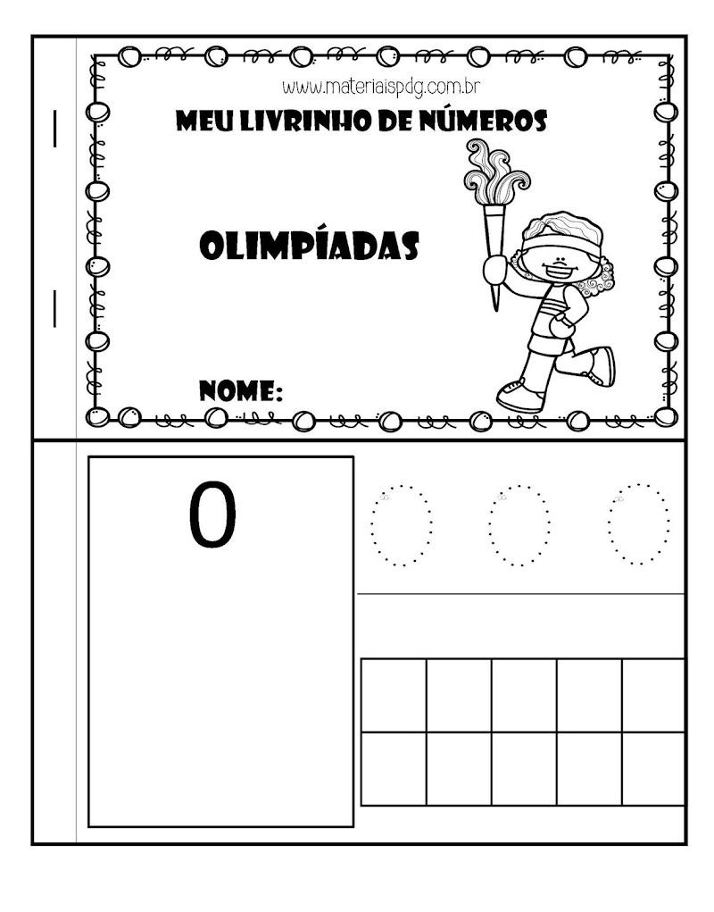 CADERNINHO DE NÚMEROS - OLIMPÍADAS