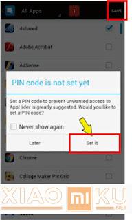 cara sembunyikan aplikasi xiaomi dengan hide app hide application
