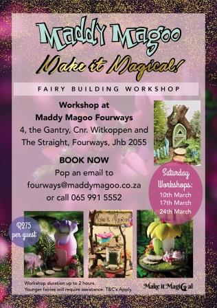 Poster - Make it Magical Fairy Building Workshop