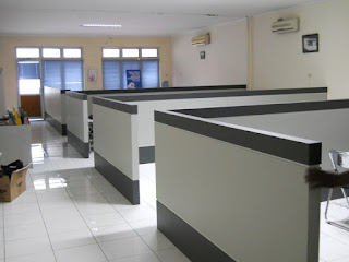 Harga Sekat Partisi Kantor Permeter + Furniture Semarang