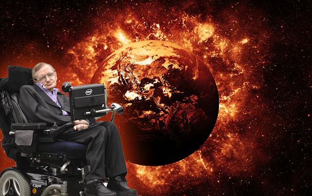Stephen Hawking Khawatir Tentang Masa Depan Manusia