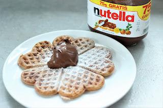 Rezept: Nutella Waffeln - www.annitschkasblog.de