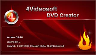 4Videosoft DVD Creator Portable