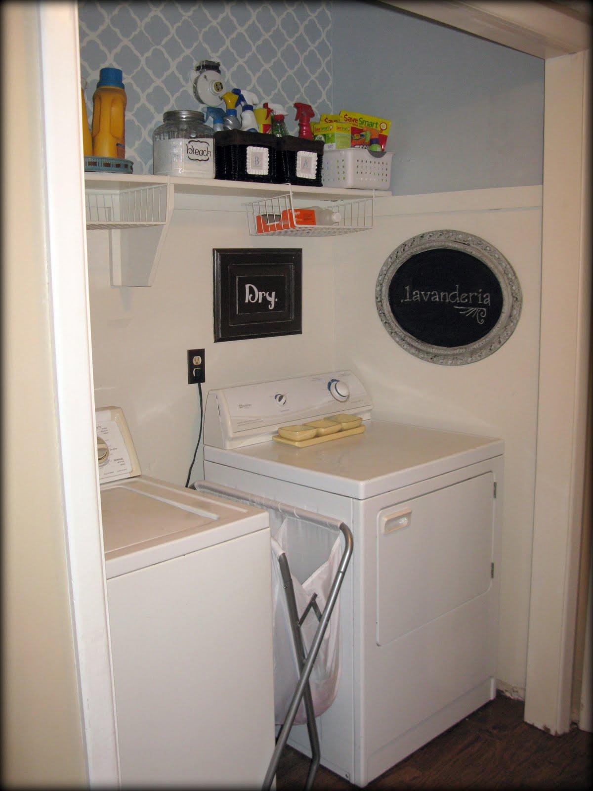 Remodelaholic Laundry Closet Redo