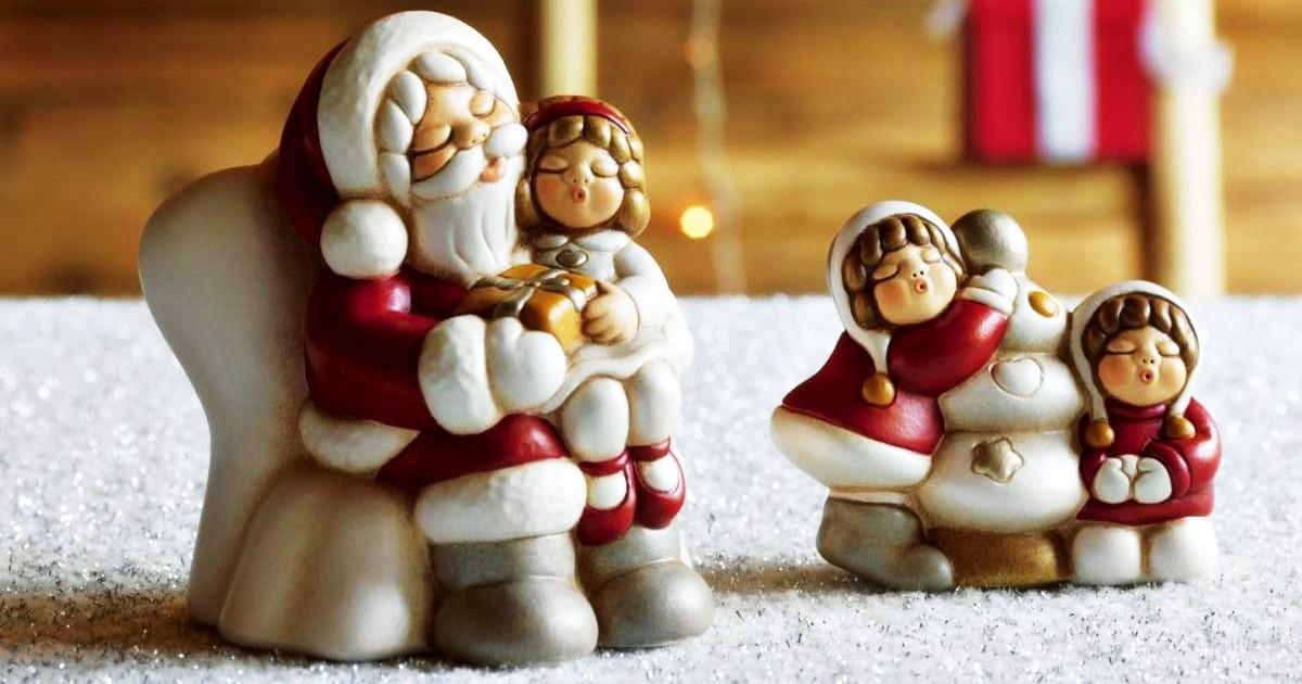 Albero Di Natale Con Presepe Thun.Nettare Di Miele Nuova Collezione Natale Thun 2018