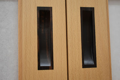 Inlaid Ebony Door Pulls