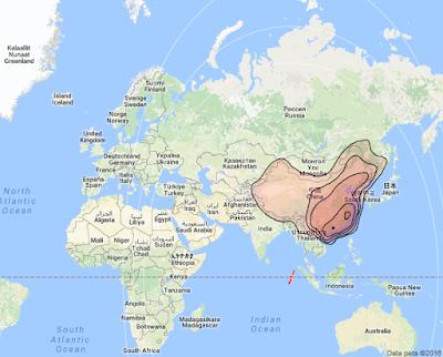 Satelit Chinasat 9 92.2°E KUBand