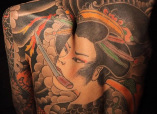 Anak Perempuan Ketua Kumpulan Yakuza Jepun