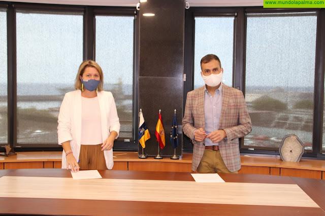Alicia Vanoostende preside el acto de toma de posesión del nuevo director general de Agricultura, Augusto Jesús Hernández González