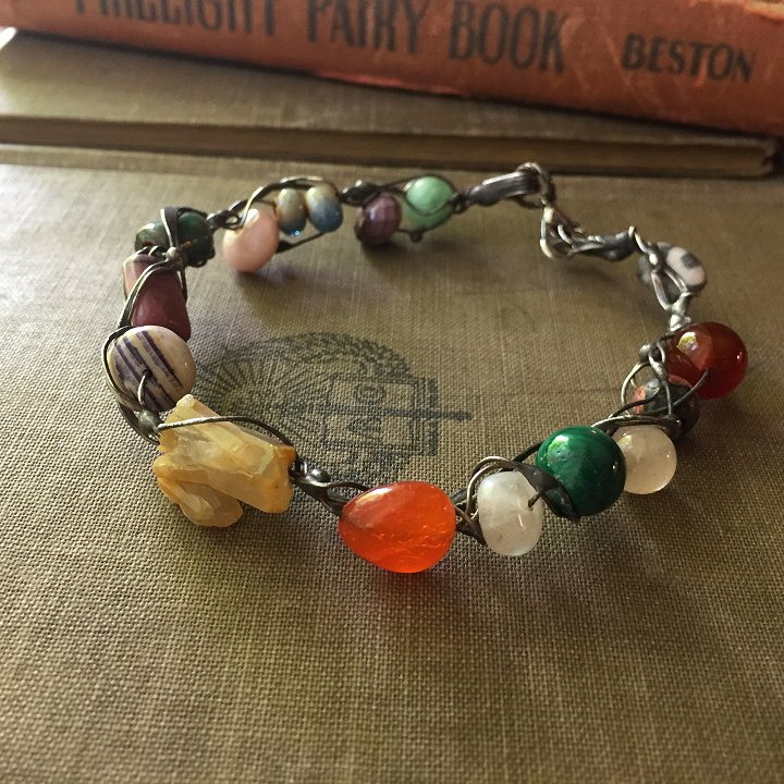 Fairy ring bracelets by Laura Love, Emmaus, PA.