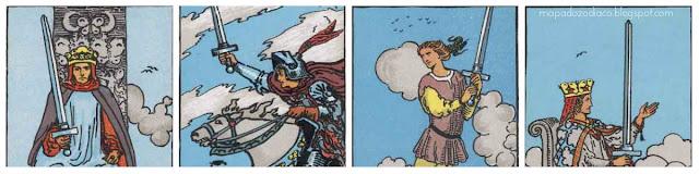 aparencia fisica cartas espadas tarot
