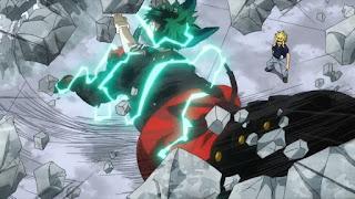 ヒロアカアニメ   緑谷出久 ワン・フォー・オール フルカウル シュートスタイル   One For All: Full Cowl - Shoot Style   MIDORIYA IZUKU   僕のヒーローアカデミア My Hero Academia   Hello Anime !