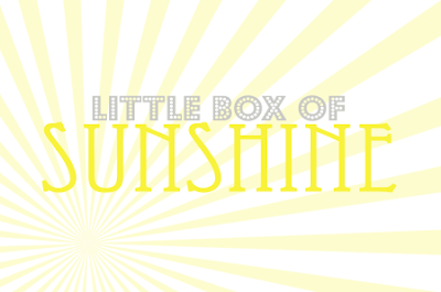 Crafty Teacher Lady Sunshine Box Printable