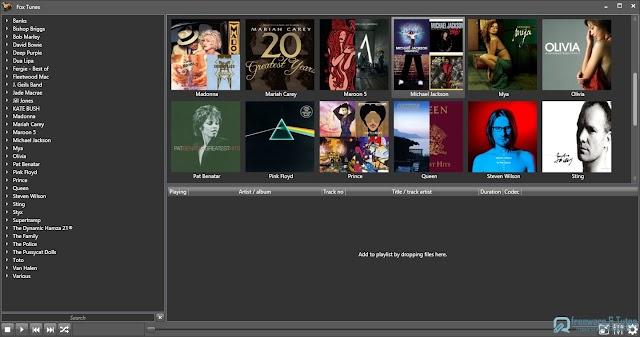 Fox Tunes : un lecteur audio open-source modulaire