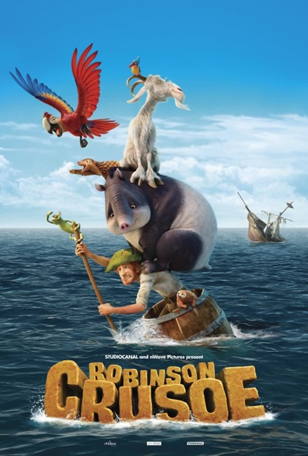 Robinson Crusoe (2016) 1080p Film indir