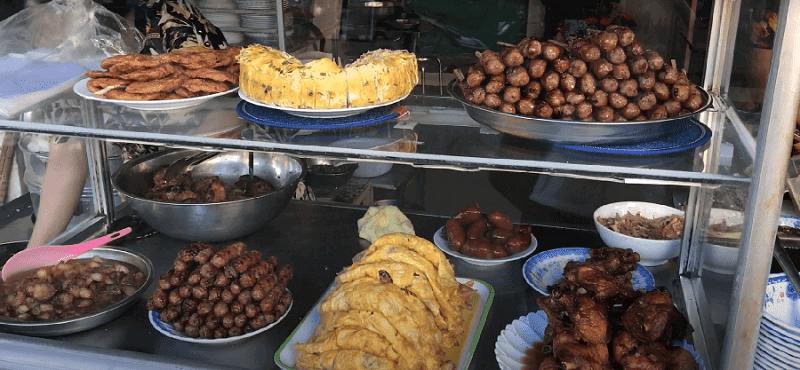 Các món ăn tại  cơm cây da Sa Đéc