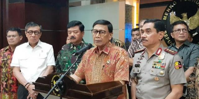 Wiranto Tegaskan Eks HTI Dilarang Sebar Paham Khilafah!