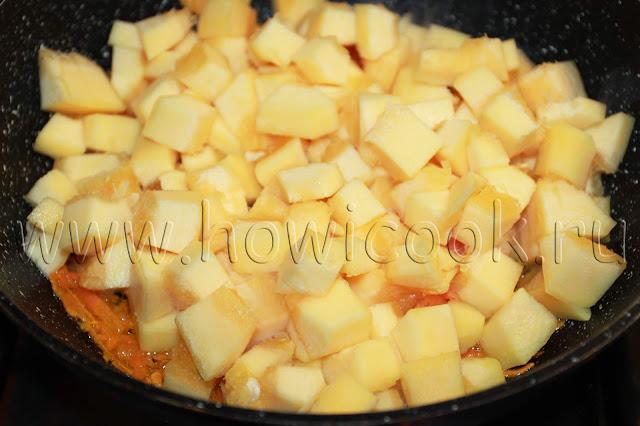 рецепт запеканки с кабачками и фаршем с пошаговыми фото