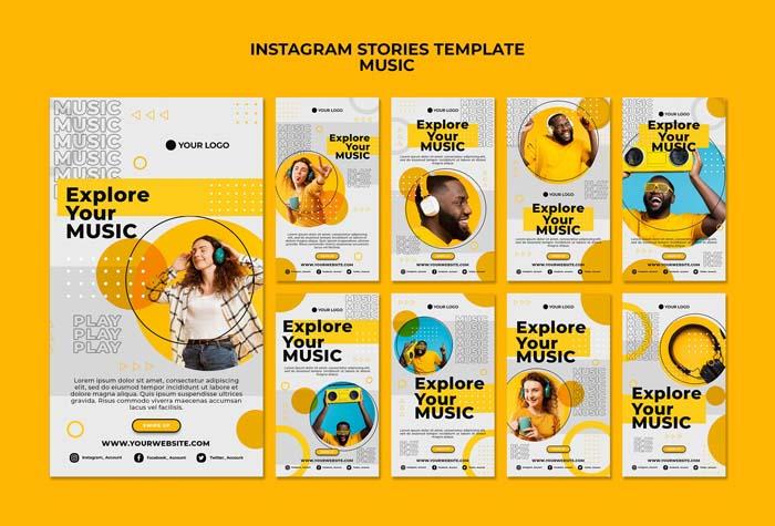 Explore Your Music Instagram Stories